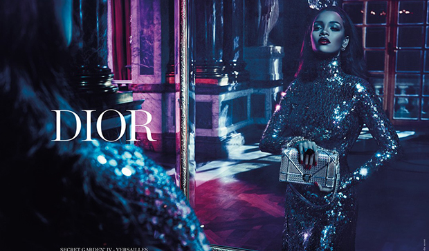 Rihanna SLAYS In This Dior Sequin Dress