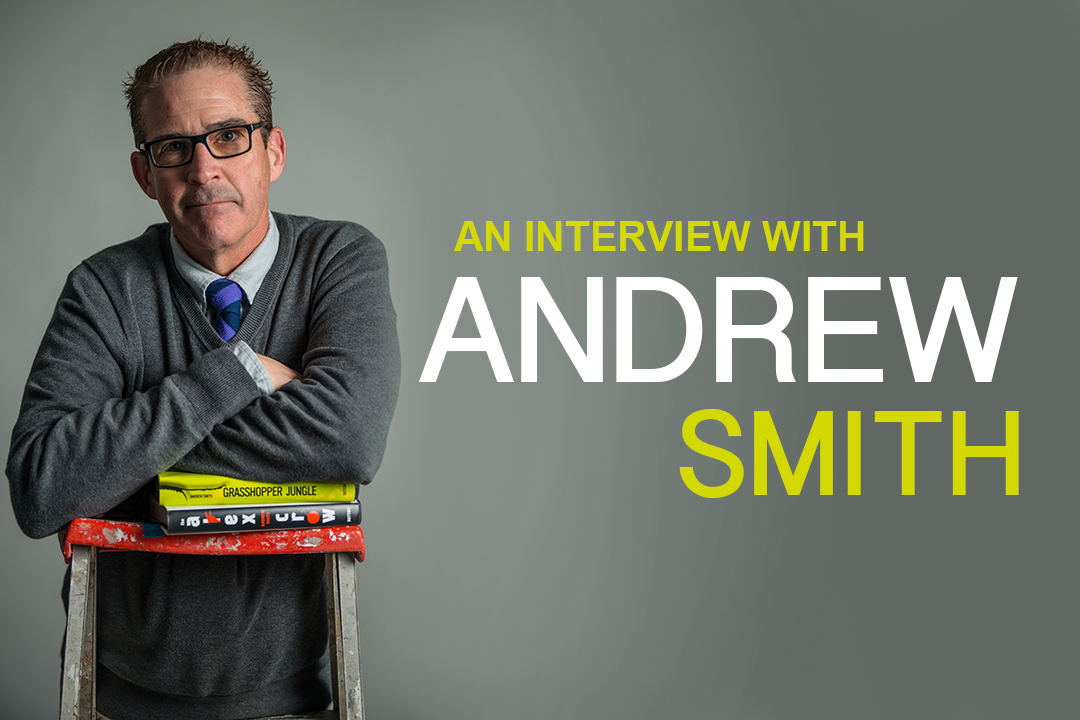 Author Andrew Smith Gets Honest
